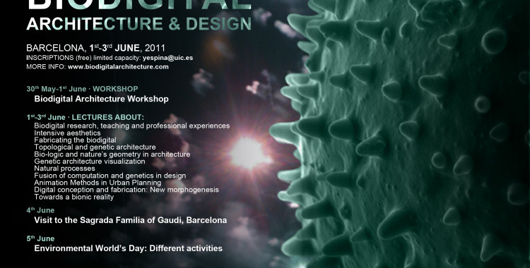 Biodigital Architecture & Design Conference