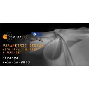 Parametric Design with Maya, MELscript & Plugins