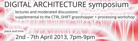 Digital Architecture Symposium - Lecture