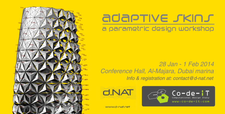 Adaptive Skins - Dubai - 28 Jan.1 Feb 2014
