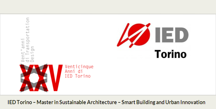 Co-de-iT joins the Master in Sustainable Architecture at IED Turin