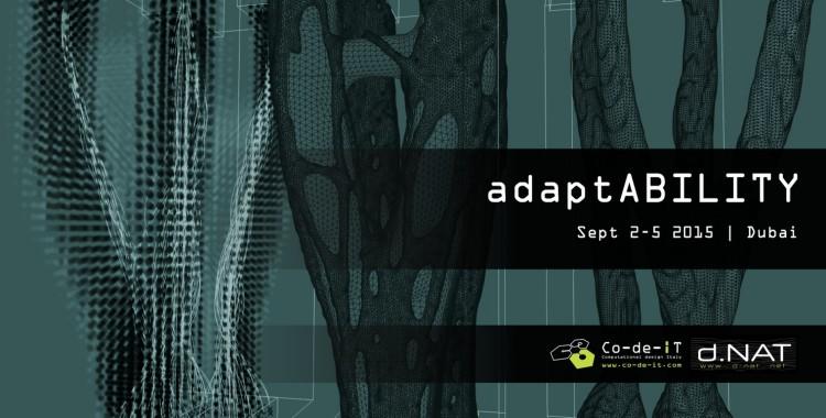 adaptABILITY workshop - Sept 2-5 2015 Dubai
