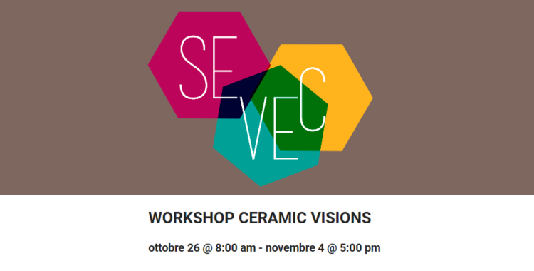 WORKSHOP CERAMIC VISIONS – DIGITAL CLAY - Mondovì (CN) 2-4 Nov 2018