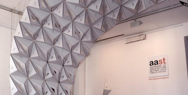 aast///spaceframe installation