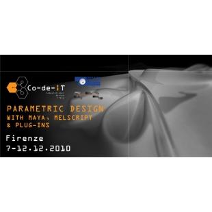 Parametric Design with Maya, MELscript & Plugins