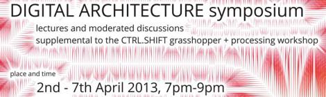 Digital Architecture Symposium - Lecture