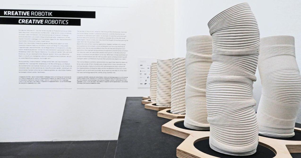 Creative Robotics exhibition – Ars Electronica Center